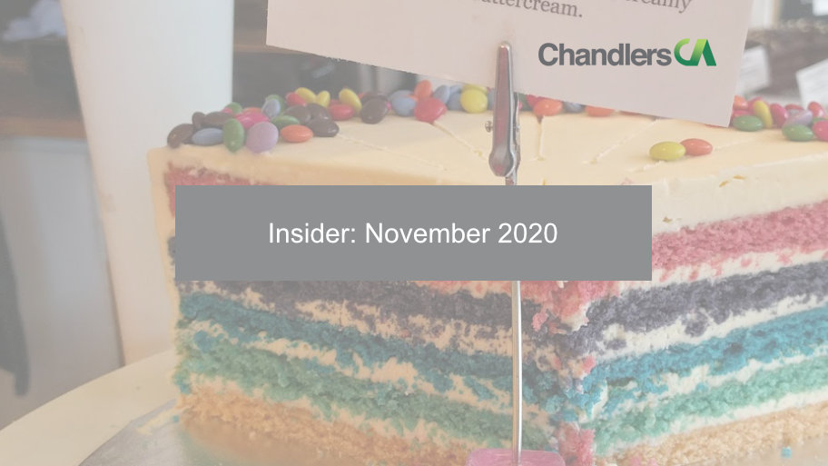 Chandlers CA - Insider: November 2020
