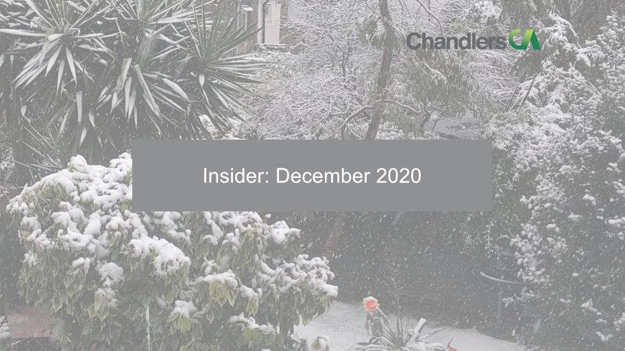 Insider: December 2020