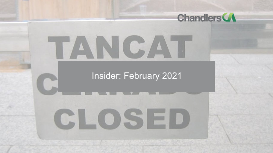Insider: February 2021