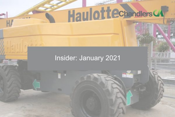 Chandlers CA - Insider: January 2021