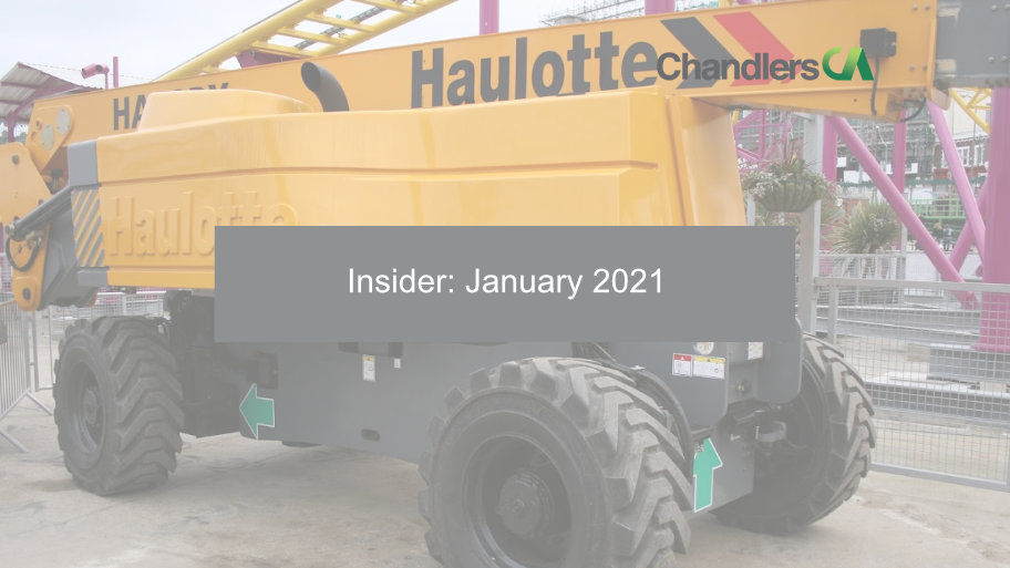 Chandlers CA - Insider: January 2021