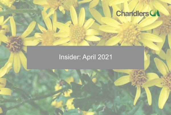 Insider: April 2021