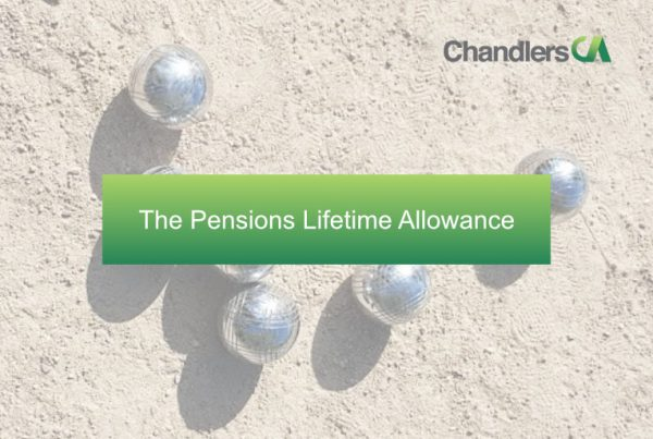 The Pensions Lifetime Allowance