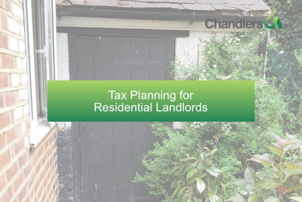 Tax planning for residential landlords