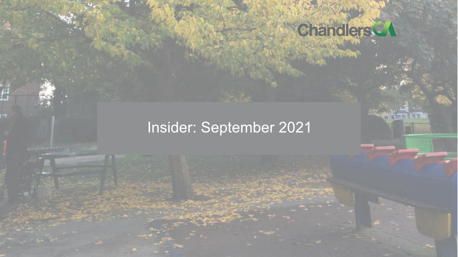 Chandlers CA - Insider September 2021