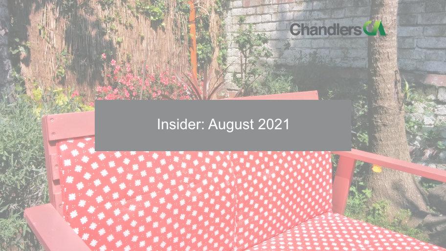 Insider: August 2021